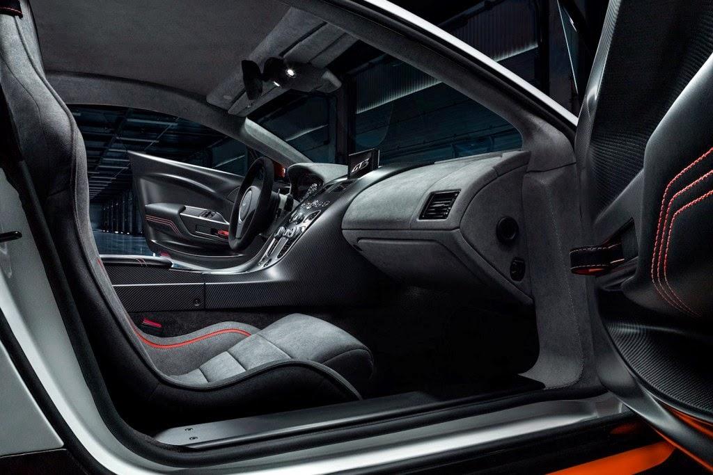 2015 Aston Martin Vantage GT12 interior