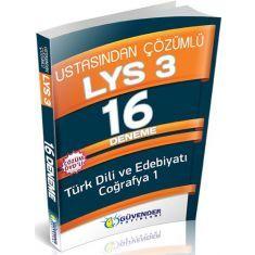 Güvender LYS-3 Edebiyat-Coğrafya1 16 Deneme Çözüm DVDli