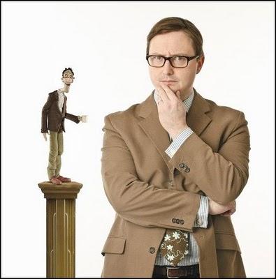 John Hodgman as Father Coraline 2009 animatedfilmreviews.filminspector.com