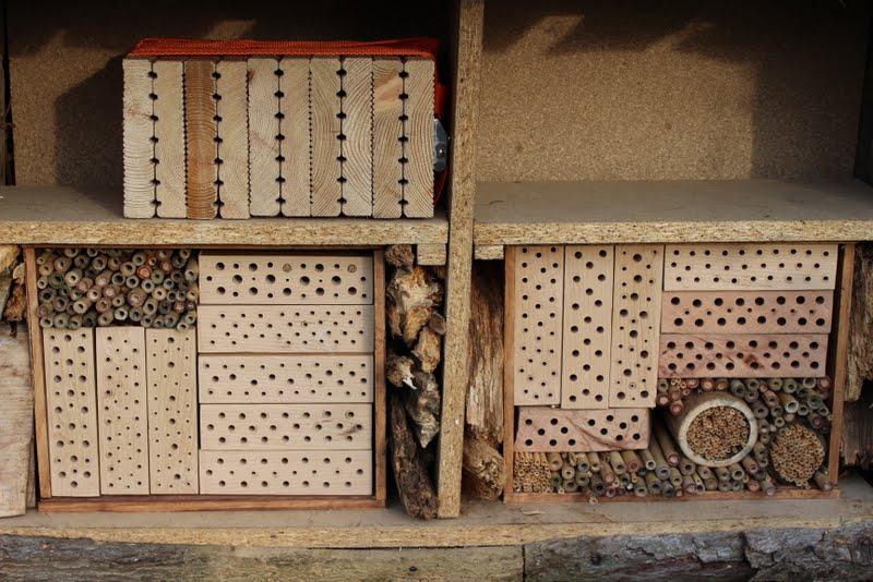 wildes gartengl ck nisthilfen f r wildbienen. Black Bedroom Furniture Sets. Home Design Ideas
