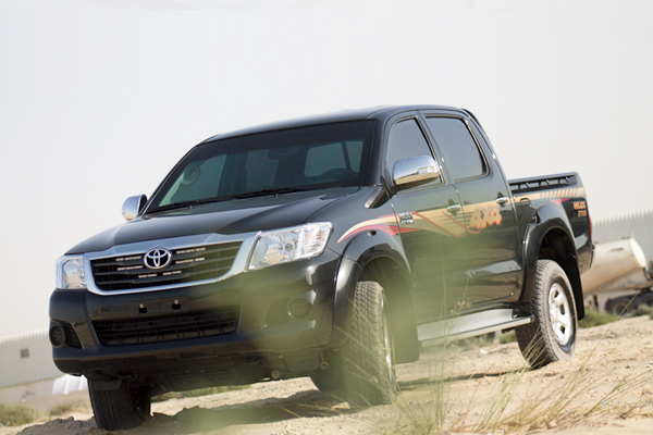 MSV's Armored Toyota HiLux