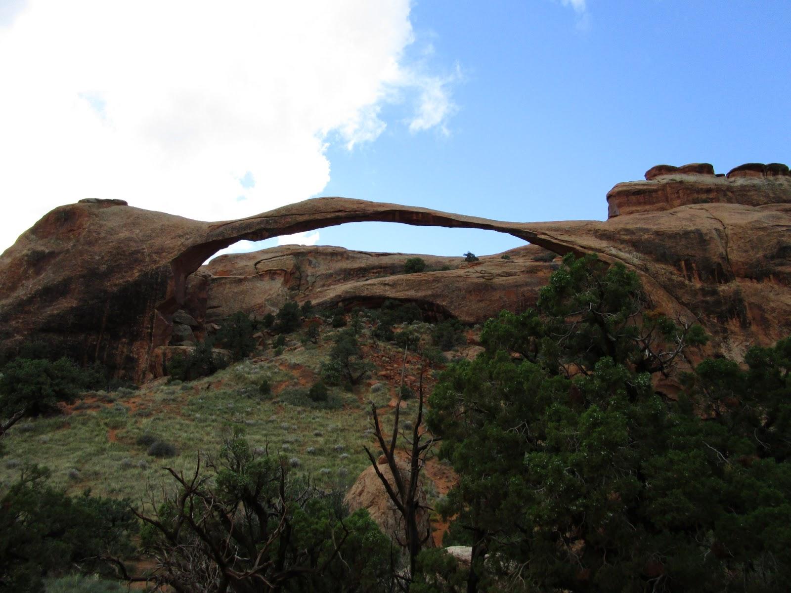 Пейзажная арка. Национальный парк Арчес, Юта (Arches National Park, UT)