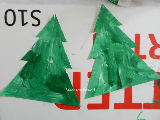 || Activité/DIY : Sapin de Noël fait maison, en papier