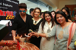 Bollywood Actress Sana Khan Launches Aakrithi Exibition  0420.JPG
