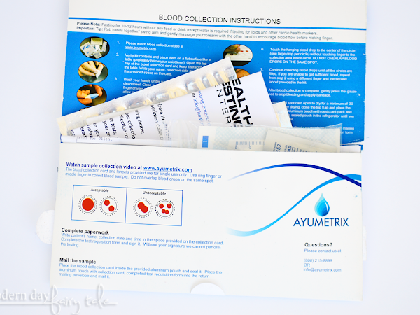 Take Control of Your Own Health with Health Testing Centers {+ Coupon Code}