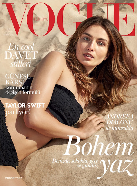 Fashion Model, @ Andreea Diaconu for Vogue Turkey June 2016