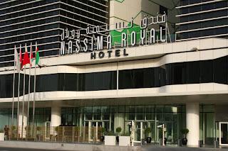 Entrance to Nassima Royal Hotel, Dubai