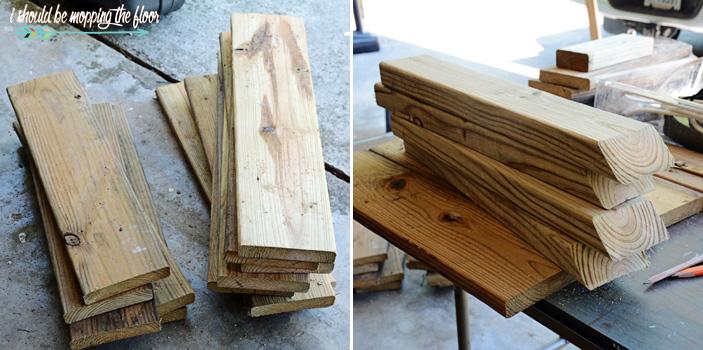 DIY Rolling Planter Box
