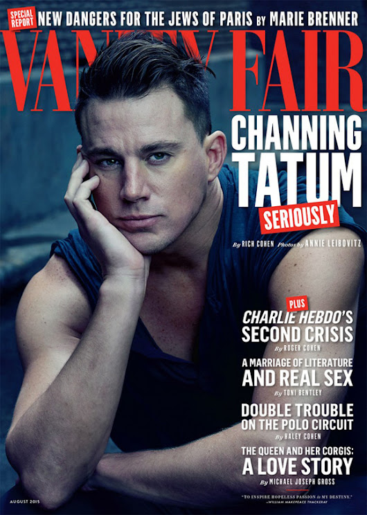 Channing Tatum for Vanity Fair