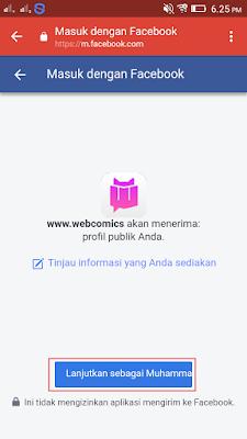 Aplikasi Webcomics Android