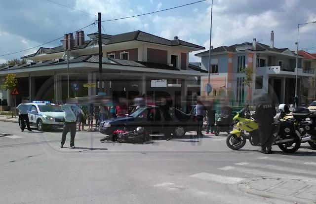 Γιάννενα: Στο Νοσοκομείο Οδηγός Δικύκλου Μετά Απο Σύγκρουση Με Ι.Χ.Ε Στα Σεισμόπληκτα [Photos]