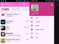 BBM MOD Official WP Pink v2.11.0.18 Apk