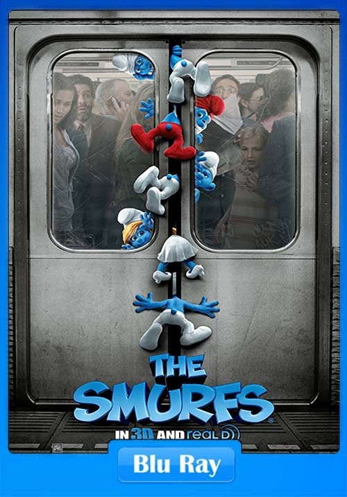 The Smurfs 2011 Dual Audio Hindi 720p Esub BluRay x264 | 480p 300MB | 100MB HEVC