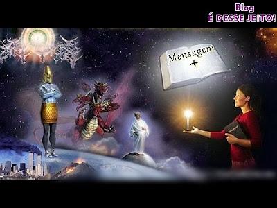 Imagem da PALAVRA de DEUS Aberta refletindo suas revelações ao mundo