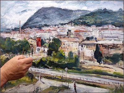 SANT JOAN DE VILATORRADA-COLLBAIX-FÀBRIQUES-PINTURA-FOTOS-ARTISTA-PINTOR-ERNEST DESCALS-PINTANT-QUADRES-PAISATGES-