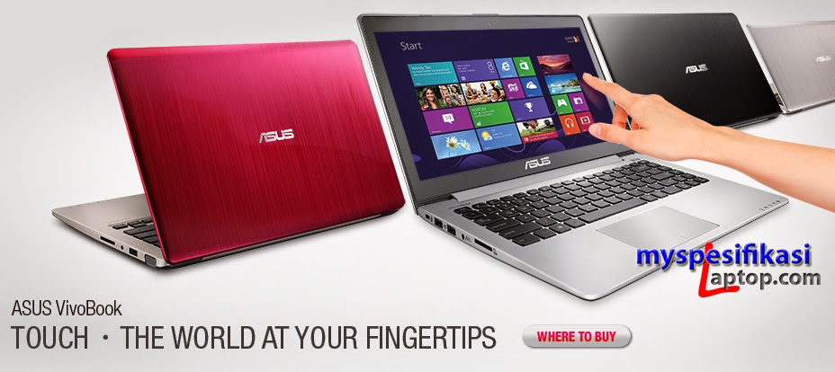 Spesifikasi%2BAsus%2BVivobook%2BTouch%2BS200E Review Harga Asus Vivobook Touch S200E Terbaru Terlengkap