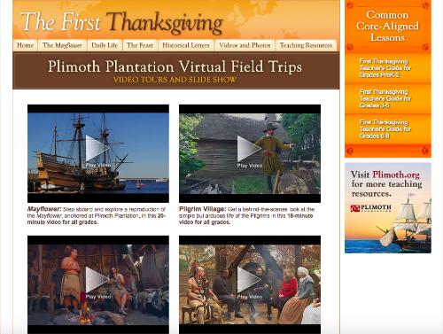 Thanksgiving unit study activity