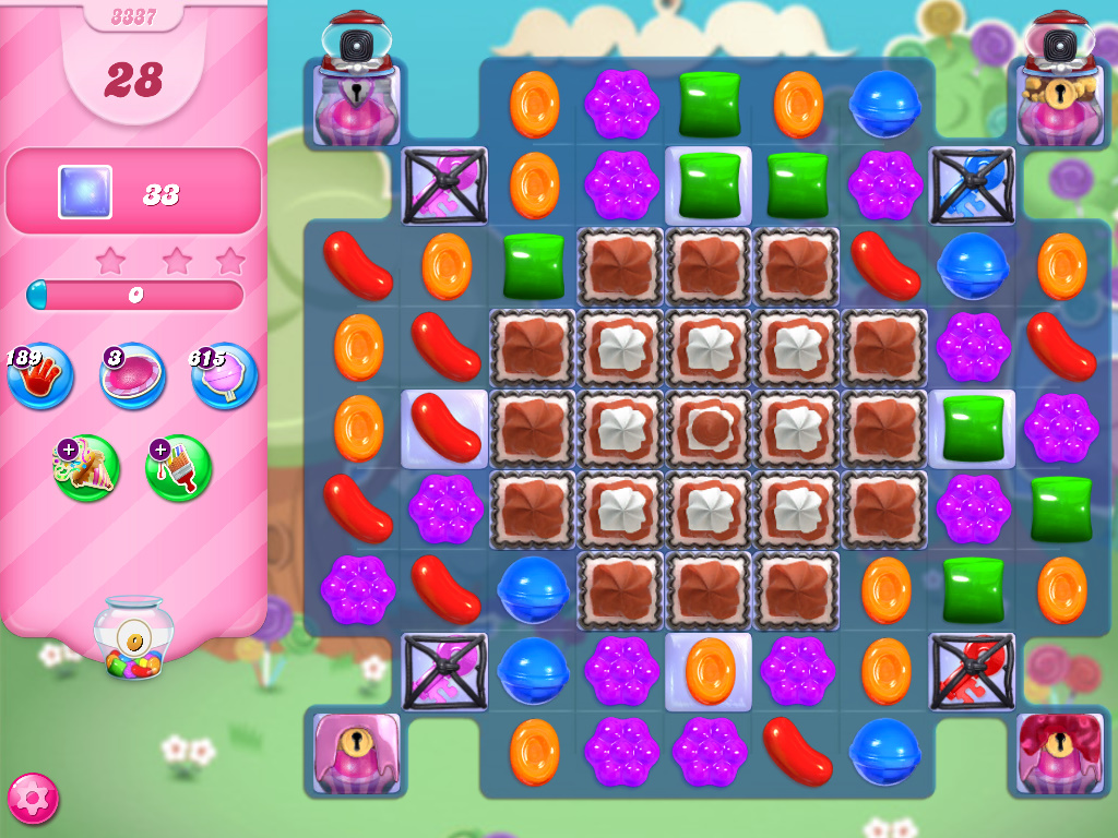 Candy Crush Saga level 3337