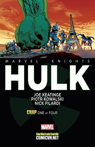 Marvel Knights- Hulk (2014)