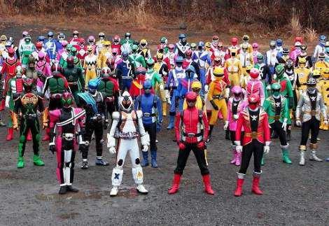 Super Sentai vs  Kamen Rider - Rangers United