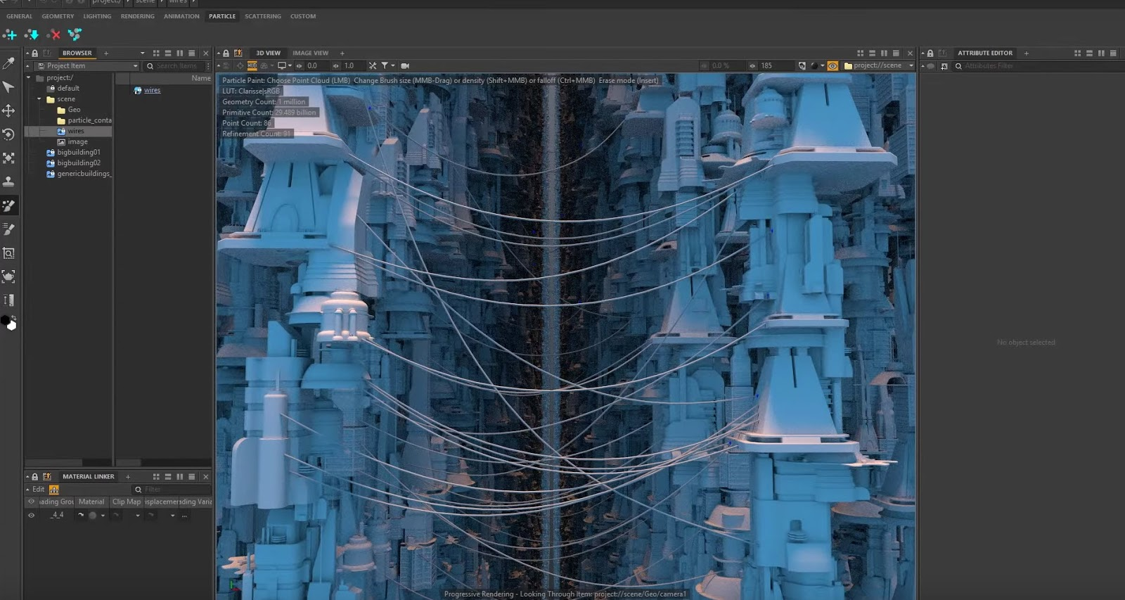 Generate Houdini Wires With Clarisse Point Clouds | CG TUTORIAL