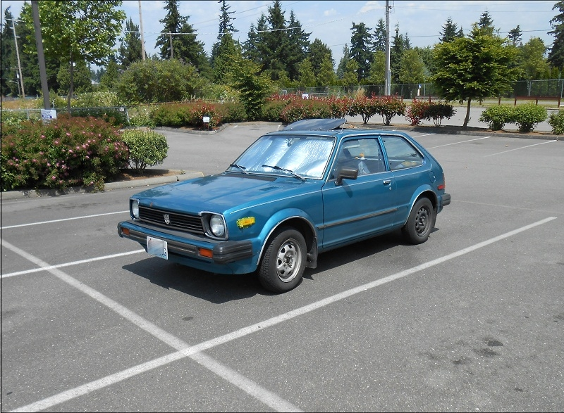 seattle 39 s parked cars 1980 honda civic 1500gl. Black Bedroom Furniture Sets. Home Design Ideas