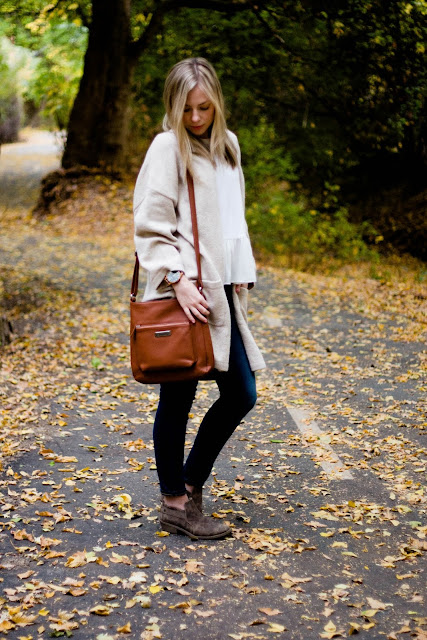 leather brown cross body bag
