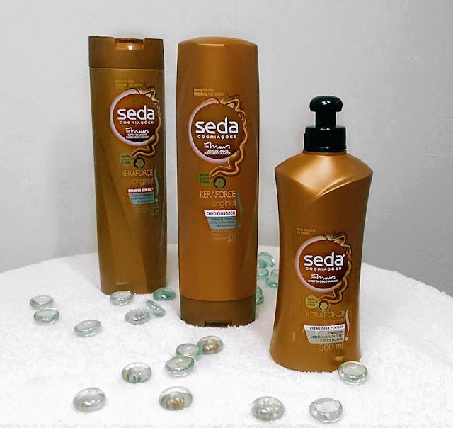 Shampoo-creme-de-pentear-condicionador-seda-keraforce-original