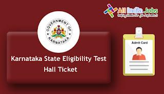 KSET Hall Ticket
