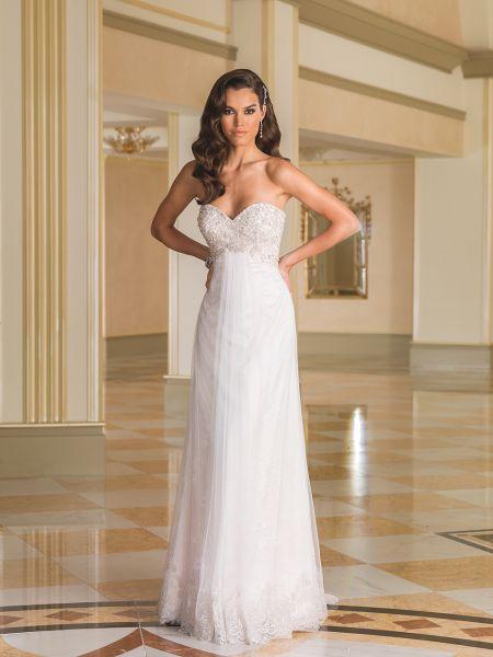 Hermosos vestidos de novias | Colección Justin Alexander