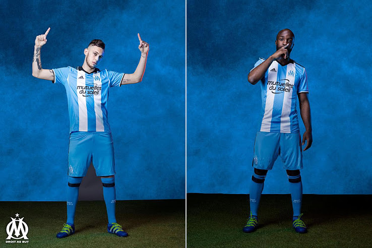 sneakers for cheap 4f66d 14d70 Olympique Marseille 16-17 Kits Released - Footy Headlines