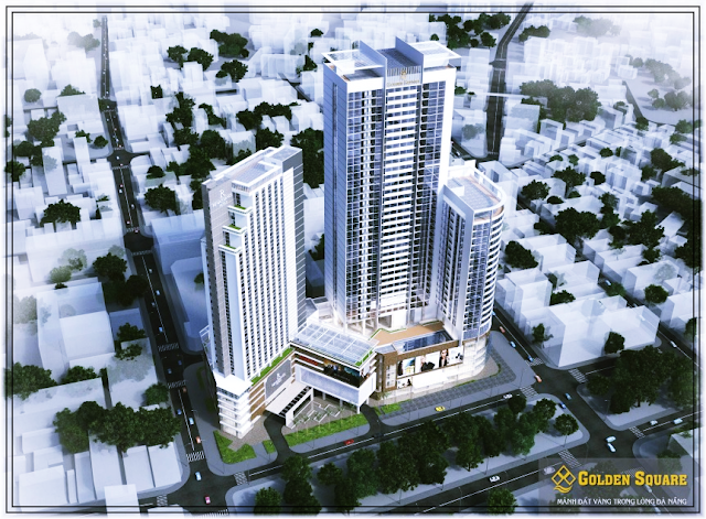Hình ảnh mới dự án Golden Square Đà Nẵng