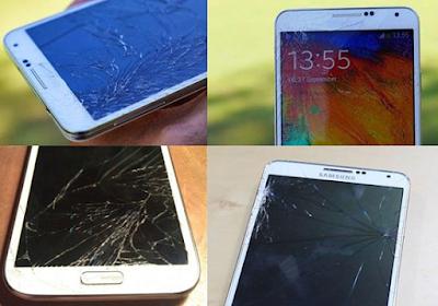 Thay mat kinh Samsung chinh hang