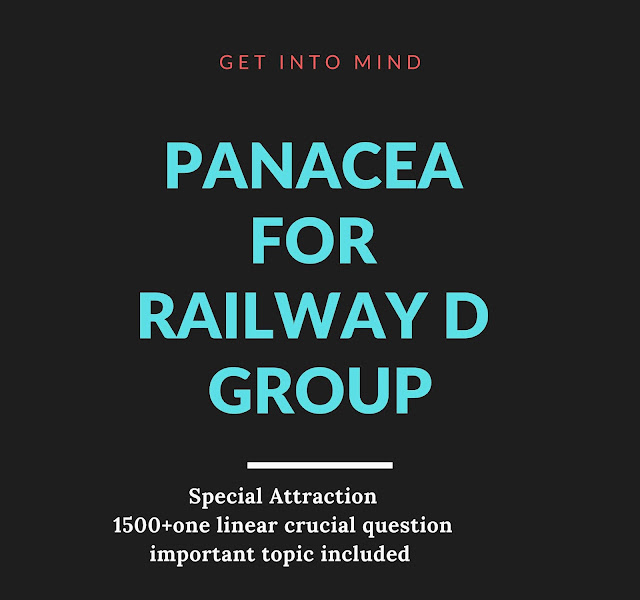 Special Ebook For Railway D Group