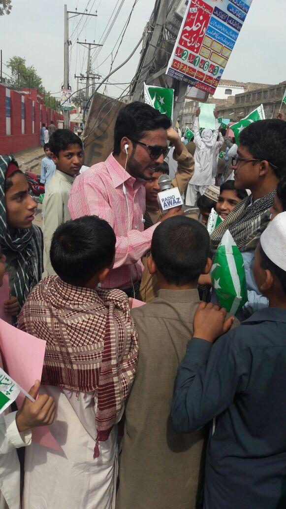 Rj Saim Muhammad Asad Radio Awaz FM 107 Pakpattan