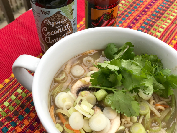 Vegan Mushroom Ramen Soup - www.welcomingkitchen.com