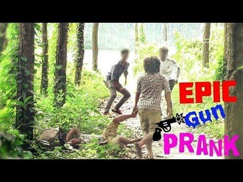 Nepali Prank - Fake Gun Sound Prank