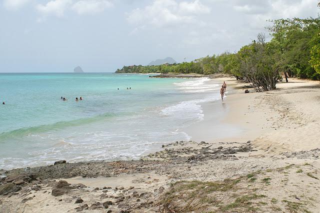 La plage de l'Anse Corps de Garde