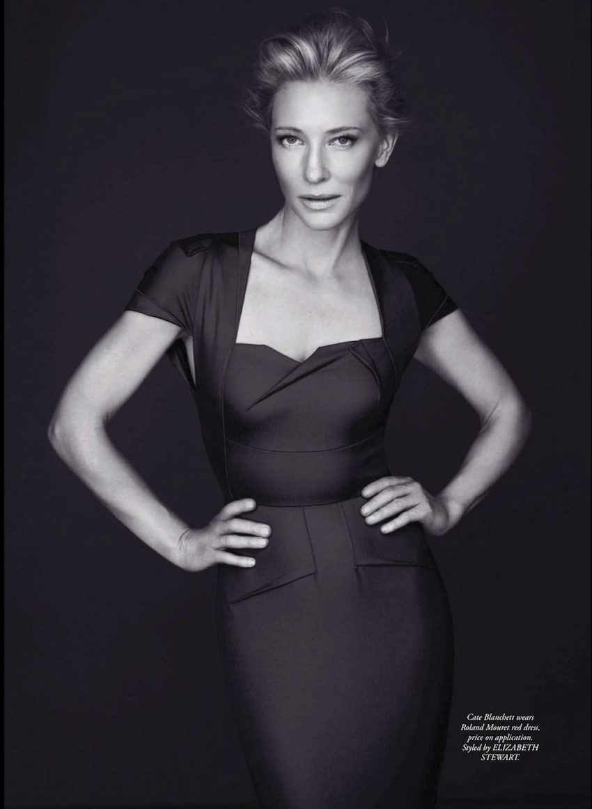 May 2013 Fashion Magazine Covers: Smile: Harper's Bazaar Australia May 2013: Cate Blanchett