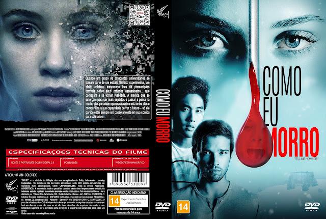 Capa DVD Como Eu Morro [Custom]