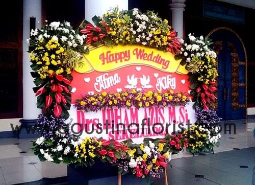 jual-bunga-papan-pernikahan-surabaya