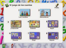 Resultado de imagen de EL JUEGO DE LOS CUENTOS