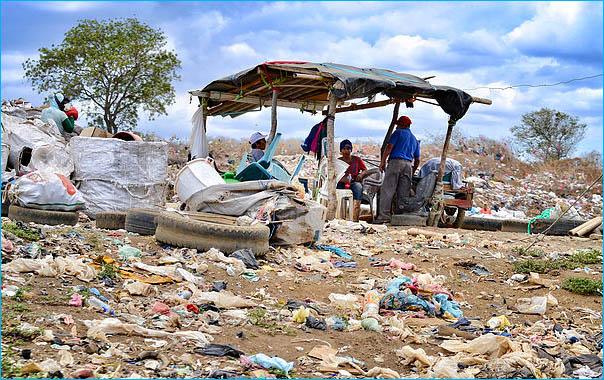 basura viviendas chureca nicaragua fotos