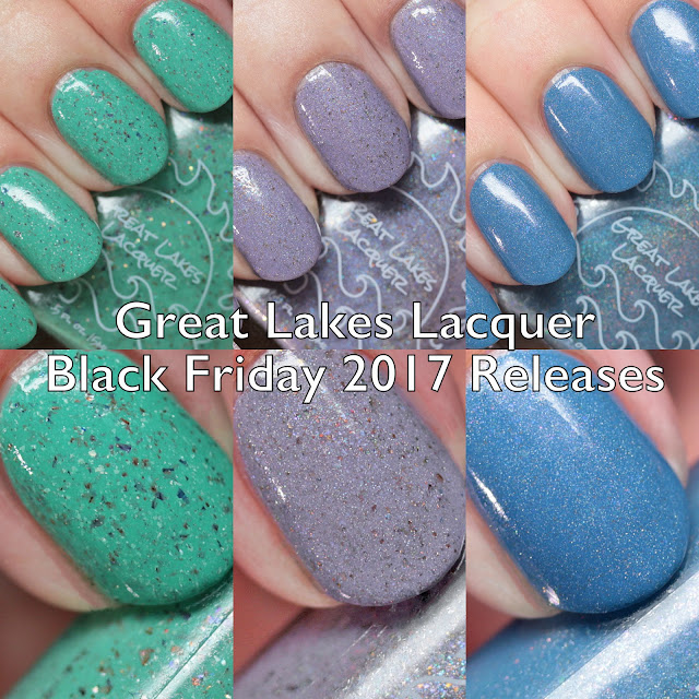 Great Lakes Lacquer Black Friday 2017 Releases Swatches
