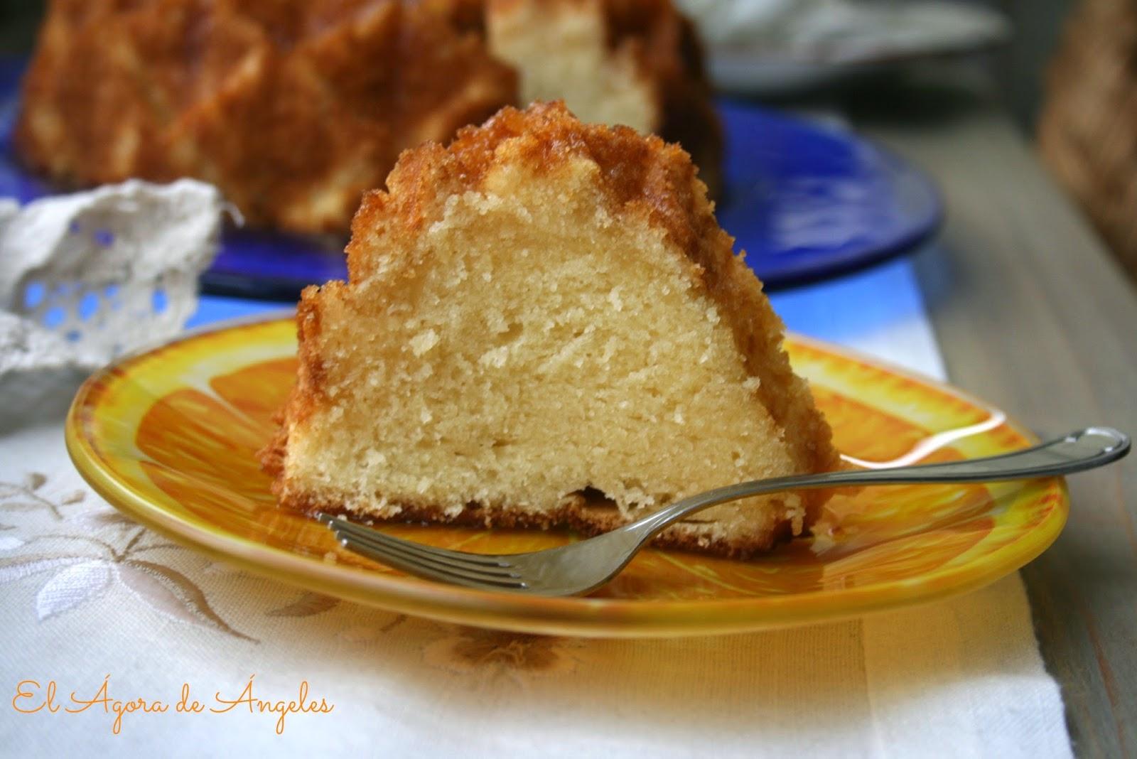 Bundt cake de limón ,glaseado de limón