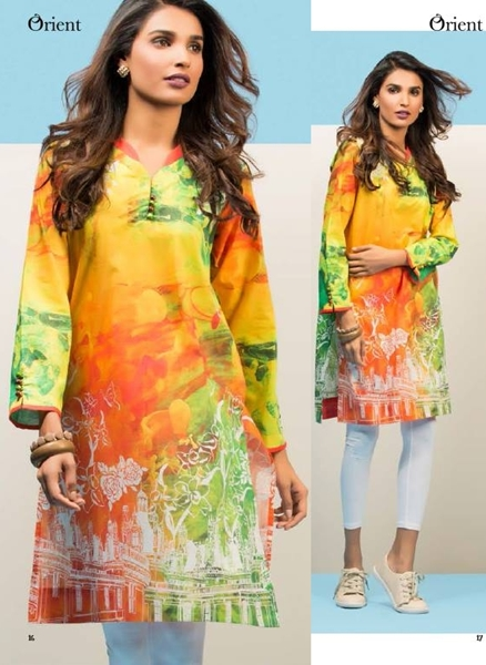 Orient Ready to Wear Digital Shirt Collection 2016