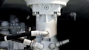 Hệ thống thủy lực xe trộn bê tông