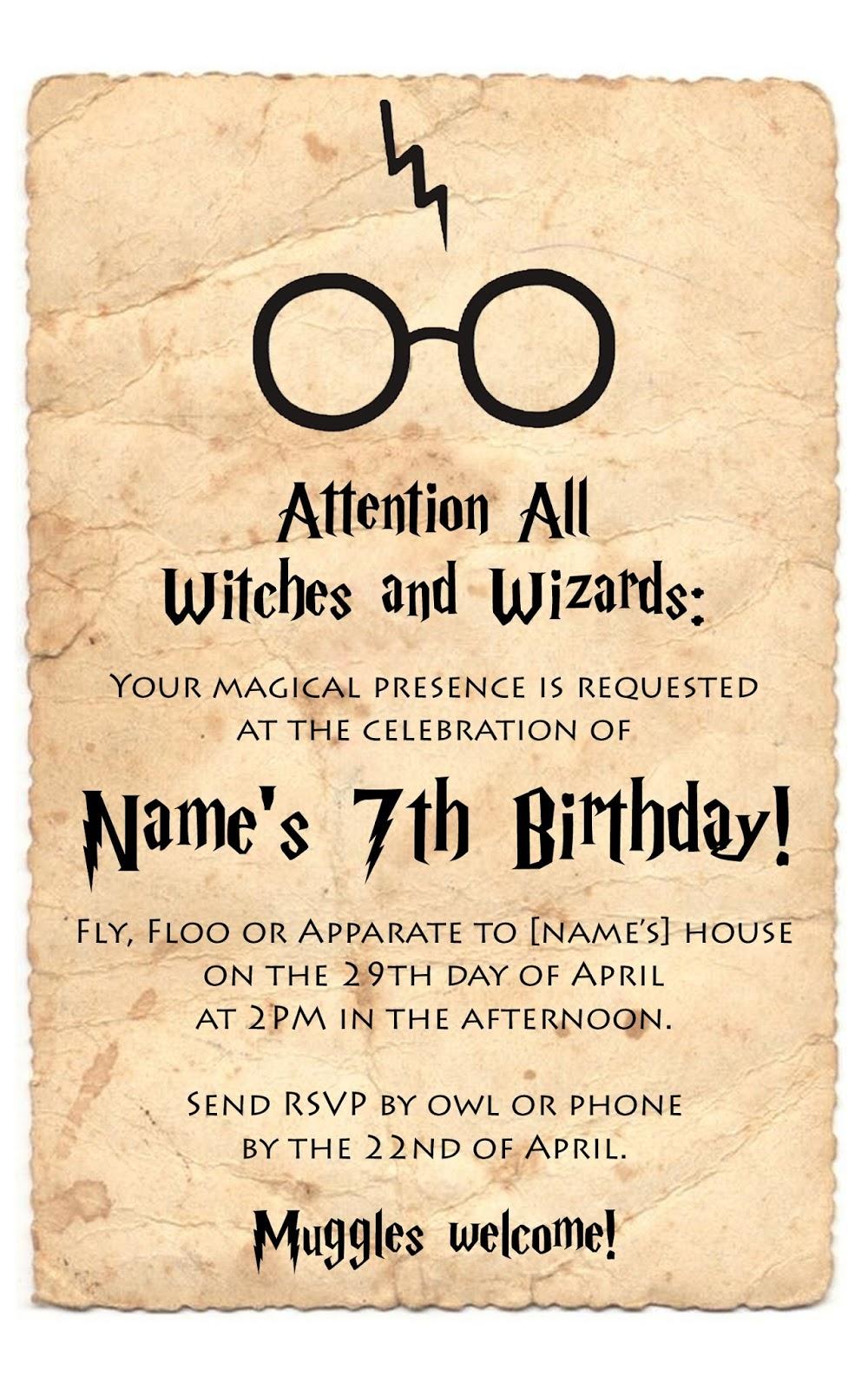 Mom\'s Tot School: Harry Potter Party!