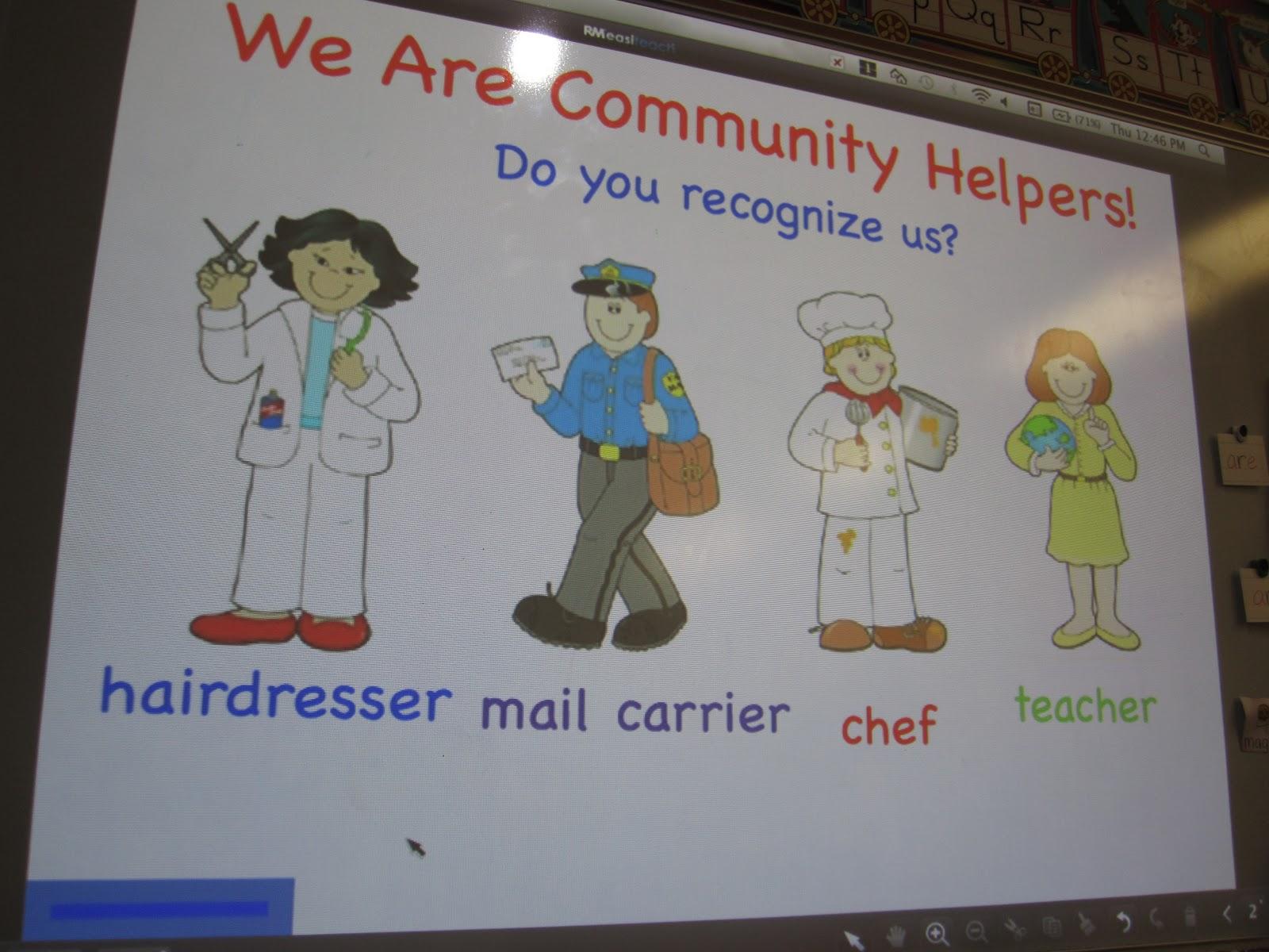Krafty Kindergarteners Community Helpers
