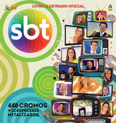 Livro Ilustrado Oficial é uma parceria entre SBT Licensing e Editora On Line - Divulgação